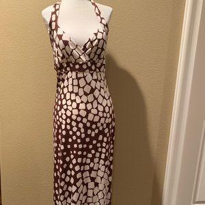 🌼NWT DVF Halter Top Long Dress Size 10🌼